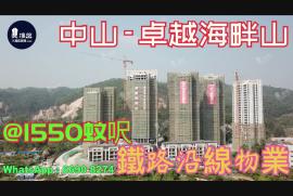 卓越海畔山_中山|深中大橋出入口與香港深圳一橋之隔|香港銀行按揭 (實景航拍)