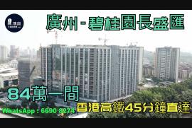 碧桂園長盛匯_廣州|首期5萬(減)|總價84萬|香港高鐵45分鐘直達|香港銀行按揭 (實景航拍)
