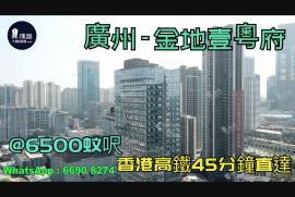 金地壹粵府_廣州|首期5萬(減)|@6500蚊呎|香港高鐵45分鐘直達|香港銀行按揭 (實景航拍)