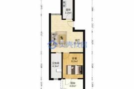 戶型方正,客廳出陽臺,適宜住家,易出租