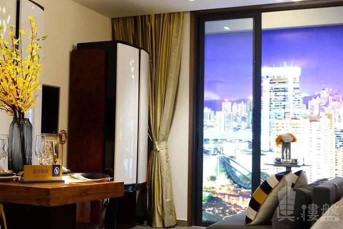 海雅繽紛城_中山 首期10萬 大型屋苑商場 優質鐵路上(實景航拍)