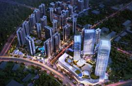 佳兆業城市廣場6期|三橋兩鐵路一機場與香港深圳一橋之隔