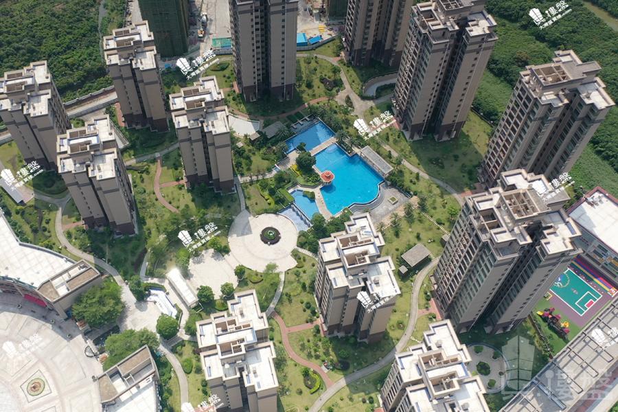 華府國際花園_珠海|0首期|即買即住|香港銀行按揭30年 (實景航拍)